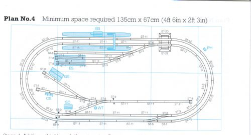 ST-PL4 Peco: Complete Track package for Peco Setrack Plan #4